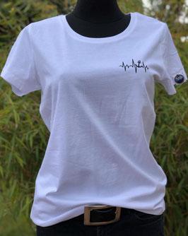 """T-Shirt """"Herzschlag Anker"""""""