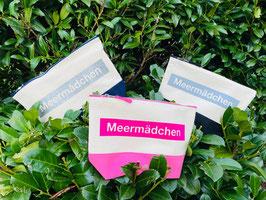 Meermädchen Täschchen Gr. M / L (farblich abgesetzt)