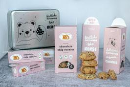 gebackene GF & Milchfreie Bio Cookies