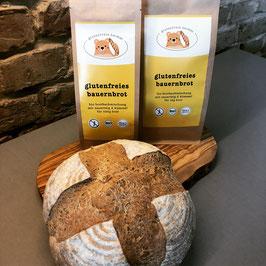 Glutenfreies Bauernbrot - Bio Backmischung klassik