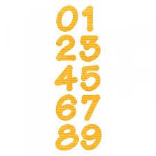 Fustella numeri Lollypop 659823