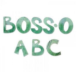 Fustella alfabeto Boss'o maiuscolo A11037