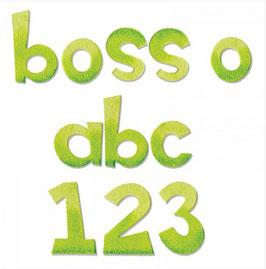 Fustella alfabeto Boss'o minuscolo A11038