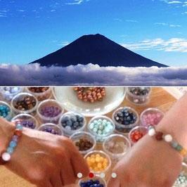 【10月10日】天然石ブレスレット作り体験ワークショップ2014秋in山梨
