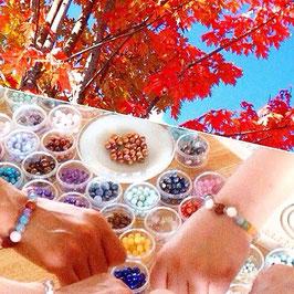 Soldout天然石ブレスレット作り体験年末特別ワークショップ【11/29・土・東京銀座】