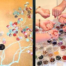 【11/11茨城つくば】屋久杉天然石ブレスレット作り体験特別ワークショップ
