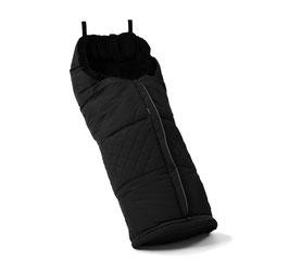 Emmaljunga Fußsack zur Farbe Lounge Black