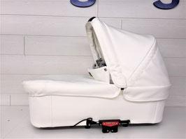 Emmaljunga Liegewanne für Double Viking / Viking Fb. White Leatherette