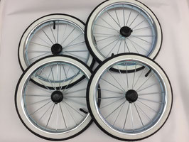 Emmaljunga Radpaket für das Duo De Luxe Gestell