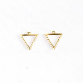 Triangle ajouré (la paire)