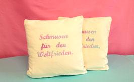 """kissenbezug """"schmusen"""""""