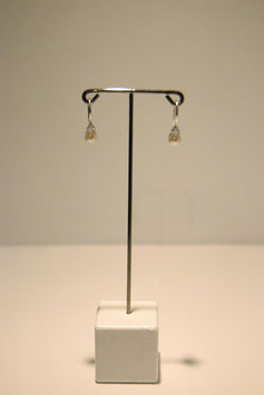 Earring with peals - silver #9