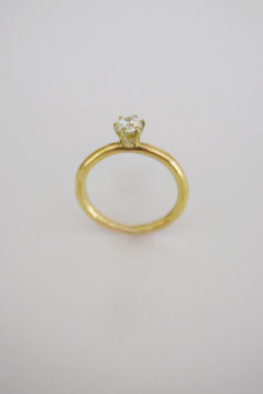 Ring with stone Gold #1