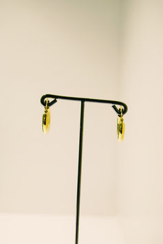 Earring - silver gold plated #7