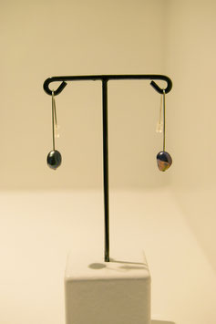 Earring with pearls - silver #13