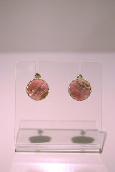 Earring with stone - Silver #10