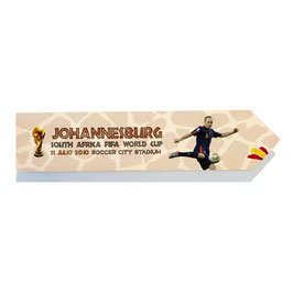 España, Mundial Sudáfrica 2010 Gol de Iniesta, final Johannesburg