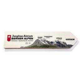 Junfrau, Eiger y Mönch, Suiza (varios diseños)