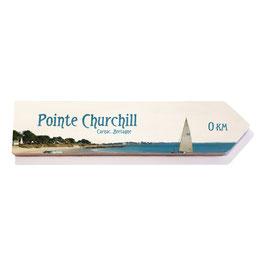 Pointe Churchill Carnac, Normandia (varios diseños)