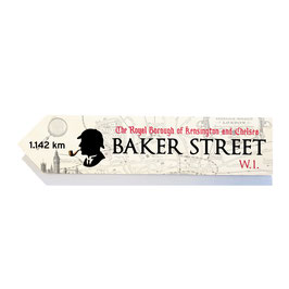 Baker Street, Londres Sherlock Holmes (varios)