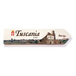 Tuscania, Lazio (varios diseños)
