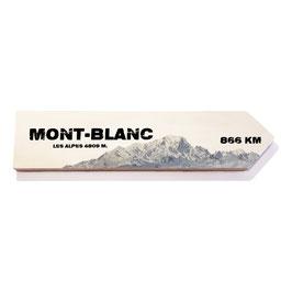 Mont Blanc, Los Alpes