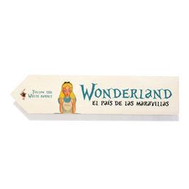 Wonderland, el país de las maravillas de Alicia