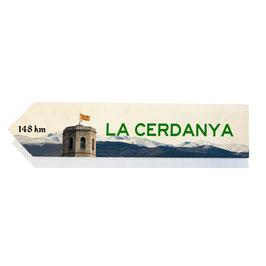 La Cerdanya, Girona (varios diseños)
