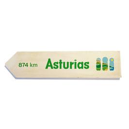 Asturias (varios diseños)