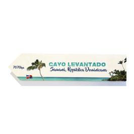 Cayo Levantado / Isla Bacardi, República Dominicana (varios diseños)
