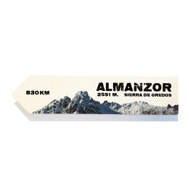 Almanzor, pico de la sierra de Gredos