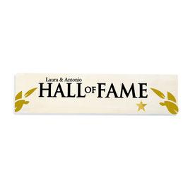 Hall of fame /salón de la fama personalizado