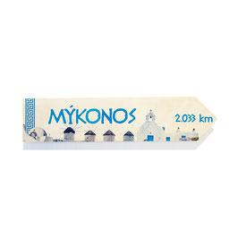 Mykonos, Grecia (varios diseños)