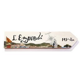 L'Empordá, Girona (varios diseños)