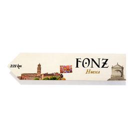 Fonz, Huesca (Varios diseños)