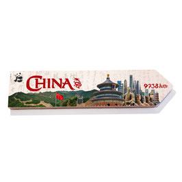 China (varios diseños)