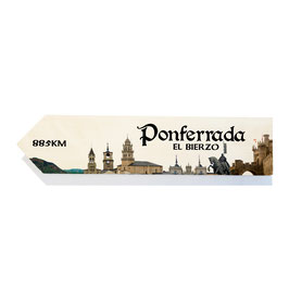 Ponferrada, El Bierzo (varios diseños)