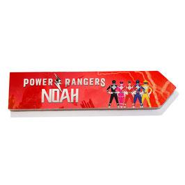 Power Rangers personalizado (varios)
