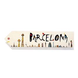 Barcelona skyline (varios diseños)
