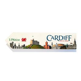 Cardiff, Gales (varios diseños)