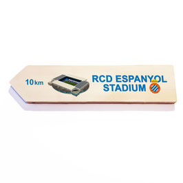 Barcelona, RCD Espanyol Stadium (varios diseños)