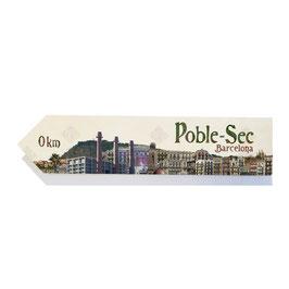 Barcelona: Poble-Sec, barri (varios diseños)