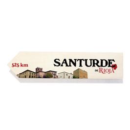 Santurde de Rioja (varios diseños)