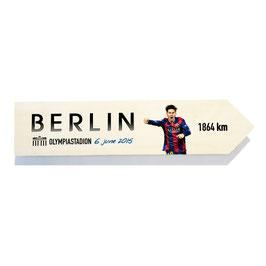 Barcelona, FCB, homenaje Champions Berlin 2015 (varios diseños)
