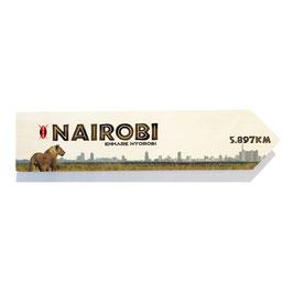 Nairobi, Kenia (varios diseños)