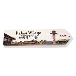 Hahoe Village, Andong, Korea (varios diseños)