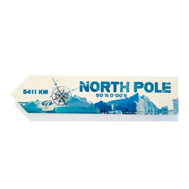 North Pole / Polo Norte (varios diseños)