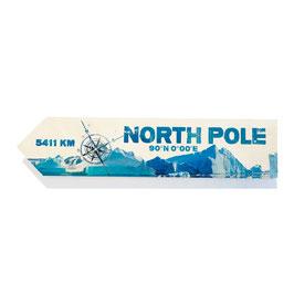 North Pole / Polo Norte (varios diseños)
