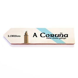 A Coruña (varios diseños)