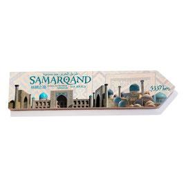 Samarkanda, Ruta de la Seda